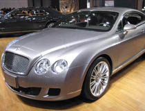 Xe Tự Lái Bently Continental GT